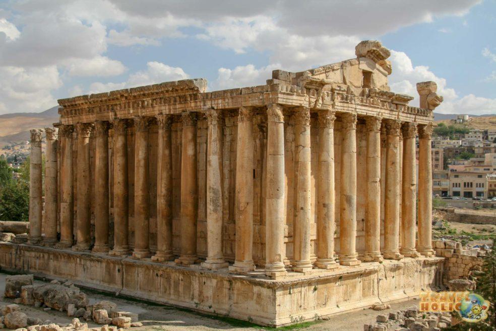 Temple d'une divinité à Beyrouth