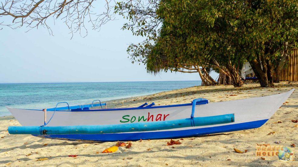 La plage, au Siladen Resort & Spa