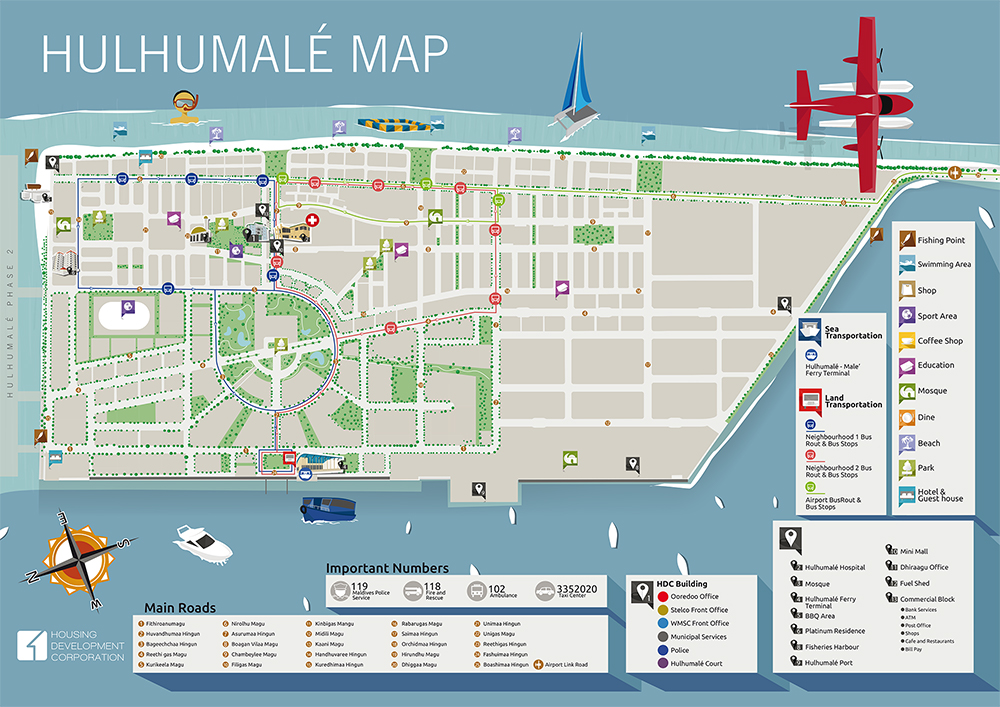 Carte d'Hulhumale