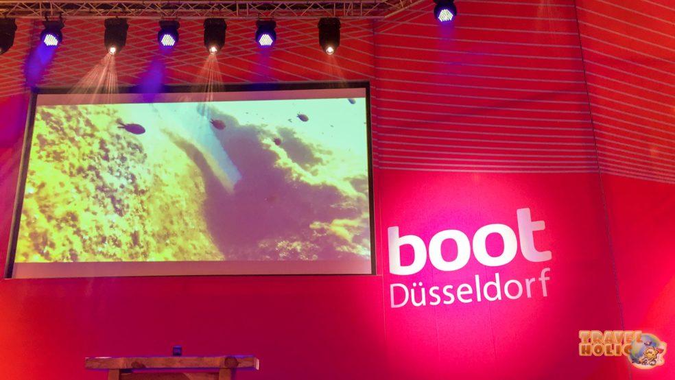 Boot de Düsseldorf en Allemagne