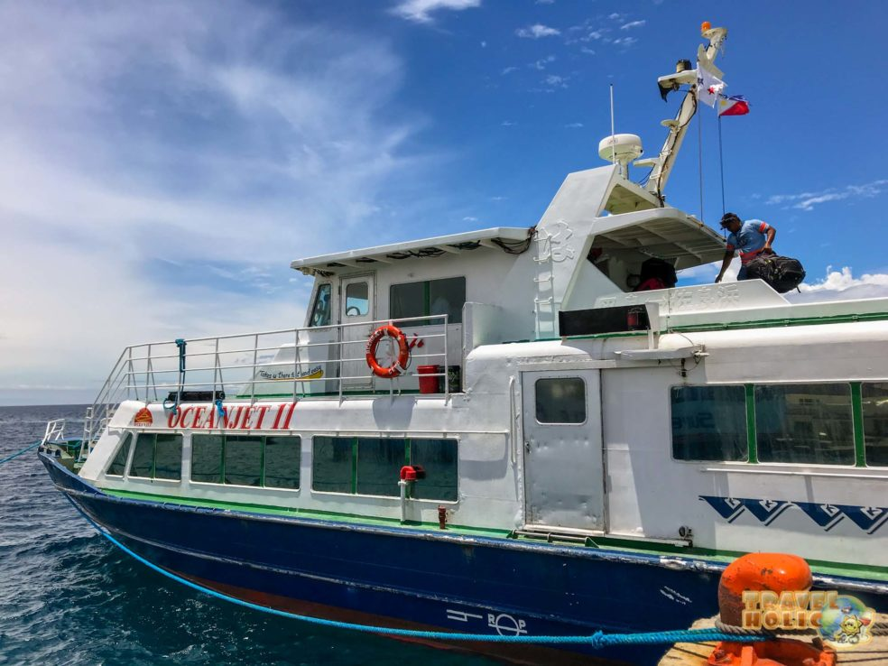 Ferry d'OceanJet aux Philippines